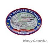 CVN-76 RONALD REAGAN 3Dポッティングステッカー