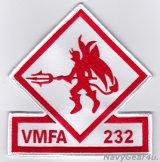 VMFA-232 RED DEVILS部隊パッチ(ラージ)