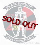 VFA-154 BLACK KNIGHTS部隊創設70周年記念ステッカー