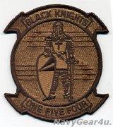 VFA-154 BLACK KNIGHTS部隊パッチ(現行デザートNEW Ver.2017〜/ベルクロ有無)