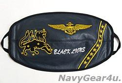 画像1: VFA-213 BLACK LIONS JHMCSヘルメット用現行バイザーカバー