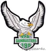 VFA-195 DAMBUSTERSビッグイーグル・バックパッチ