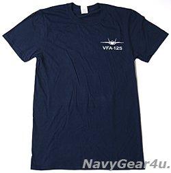 画像3: VFA-125 ROUGH RAIDERS オフィシャルT-シャツ(ネイビー)