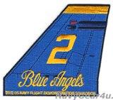 ブルーエンジェルズ2012ツアー記念垂直尾翼パッチ#2(デッドストック)