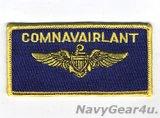 COMNAVAIRLANT大西洋艦隊海軍航空隊司令部パイロットネームタグ