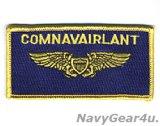 COMNAVAIRLANT大西洋艦隊海軍航空隊司令部NFOネームタグ