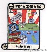 VAQ-138 YELLOW JACKETS WESTPAC 2016 PACOMディプロイメント記念パッチ(ハイブリッド)