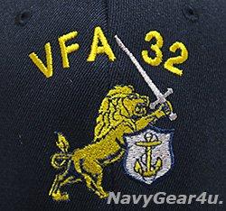 画像2: VFA-32 SWORDSMENオフィシャルボールキャップ(NEW Ver/FLEX FIT)