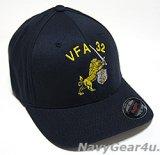 VFA-32 SWORDSMENオフィシャルボールキャップ(NEW Ver/FLEX FIT)