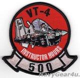 VT-4 WARBUCKS T-6A インストラクター500飛行時間達成記念パッチ