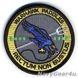 VFA-97 WARHAWKS LSOパッチ(ベルクロ付き)