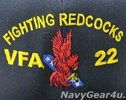 画像2: VFA-22 FIGHTING REDCOCKSオフィシャルボールキャップ(FLEX FIT)