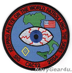 画像1: VP-26 TRIDENTS CAC-12 2004 シゴネラ展開記念パッチ