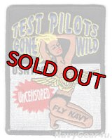 "US.NAVY TEST PILOT SCHOOL ""TEST PILOTS GONE WILD""パッチ"