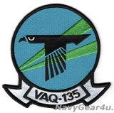 VAQ-135 BLACK RAVENS 部隊パッチ(ラージ)