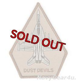 画像1: VX-31 DUST DEVILS F/A-18E/Fショルダーパッチ(デザート/ベルクロ有無)