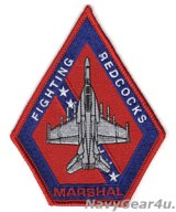 VFA-22 FIGHTING REDCOCKS F/A-18Fショルダーパッチ(現行Ver./ベルクロ有無)