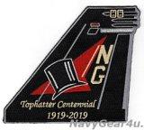 VFA-14 TOPHATTERS部隊創設100周年記念尾翼パッチ