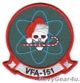 VFA-151 VIGILANTES HOLIDAY部隊パッチ(ベルクロ有無)