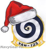 VAW-123 SCREWTOPS HOLIDAY部隊パッチ
