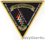VFA-27 ROYAL MACES ウエストパック・サマークルーズ2018/CVW-5 TOP HOOKスコードロン記念パッチ