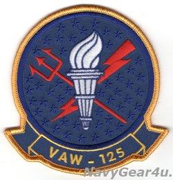 画像1: VAW-125 TIGERTAILS 部隊パッチ(星条旗Ver./ベルクロ有無)