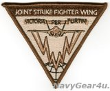 JOINT STRIKE FIGHTER WING部隊パッチ(デザート/ベルクロ有無)