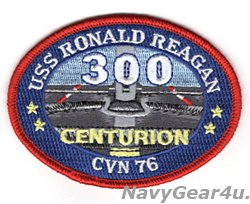 画像1: CVN-76ロナルド・レーガン300センチュリオンパッチ