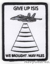 VAQ-135 BLACK RAVENS CENTCOMディプロイメント2018-19 GIVE UP ISISパッチ
