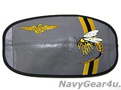 画像1: VAQ-138 YELLOW JACKETSヘルメット用バイザーカバー(HGU-55/P,-68/P用)