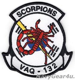 画像1: VAQ-132 SCORPIONS 2019年PACOM DEPLOYMENT記念部隊パッチ(韓国Ver./ベルクロ有無)
