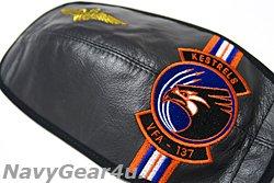 画像2: VFA-137 KESTRELSヘルメット用バイザーカバー(HGU-55/P,-68/P用)