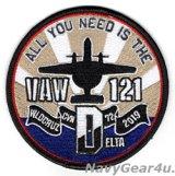 VAW-121 BLUETAILSCVW-7/CVN-72 ワールドトクルーズ2019記念パッチ