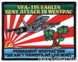 VFA-115 EAGLES BEST ATTACK IN WESTPACパッチ(NEW Ver.)