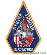 VFA-106 GLADIATORS TAC DEMOチーム岩国フレンドシップデイ2019参加記念ショルダーパッチ(ベルクロ有無)