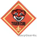 VAW-125 TIGERTAILS TIGER CUBショルダーマスコットパッチ(ベルクロ有無)