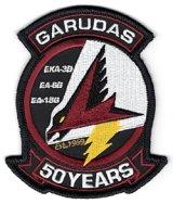 VAQ-134 GARUDAS 2019部隊創設50周年記念部隊パッチ(ベルクロ有無)