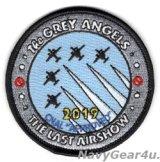 "VAW-120 GREY HAWKS ""The GREY ANGLES""ラストエアショー2019ジョークパッチ(ベルクロ有無)"