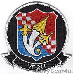 画像1: VFA-211 FIGHTING CHECKMATES ヒストリー部隊パッチ