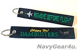 画像1: VFA-195 DAMBUSTEERS REMOVE BEFORE FLIGHTキーリング(Ver.2/1個)