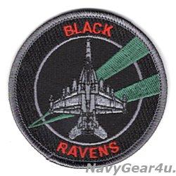 画像1: VAQ-135 BLACK RAVENS  SUBDUDE EA-18Gショルダーバレットパッチ(ベルクロ有無)