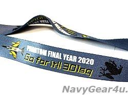 画像2: 航空自衛隊第301飛行隊ファントムファイナルイヤー2020記念ネックストラップ(Ver.2/ランヤード)