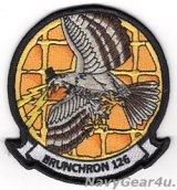 """VAW-126 SEAHAWKS """"BRUNCHRON 126""""部隊パッチ"""