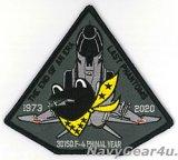 航空自衛隊第301飛行隊ラストファントム時代の終わり2020記念パッチ(サブデュード/ベルクロ有無)