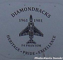 画像2: VFA-102 DIAMONDBACKS 部隊創設65周年記念ヘリテージプライドパッチ(F-4/ベルクロ有無)