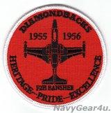 VFA-102 DIAMONDBACKS 部隊創設65周年記念ヘリテージプライドパッチ(F2H/ベルクロ有無)