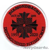 VFA-102 DIAMONDBACKS 部隊創設65周年記念ヘリテージプライドパッチ(殊勲飛行十字章/ベルクロ有無)
