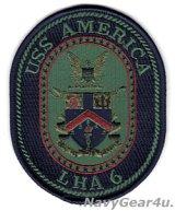 LHA-6 アメリカ部隊パッチ(サブデュード/ベルクロ有無)