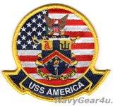 LHA-6 アメリカ部隊パッチ(ジャケット/フライトスーツ用ベルクロ有無)