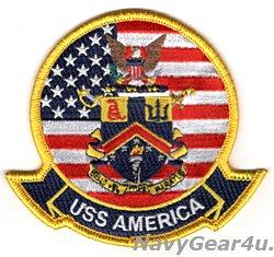 画像1: LHA-6 アメリカ部隊パッチ(ジャケット/フライトスーツ用ベルクロ有無)